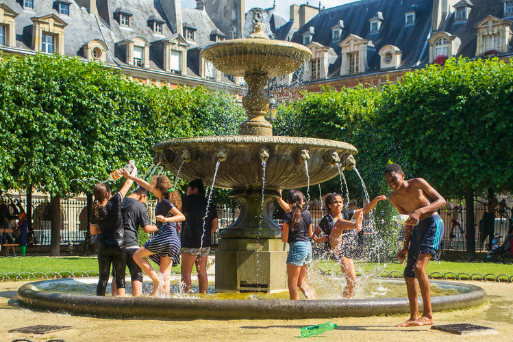Paris Water Fountain