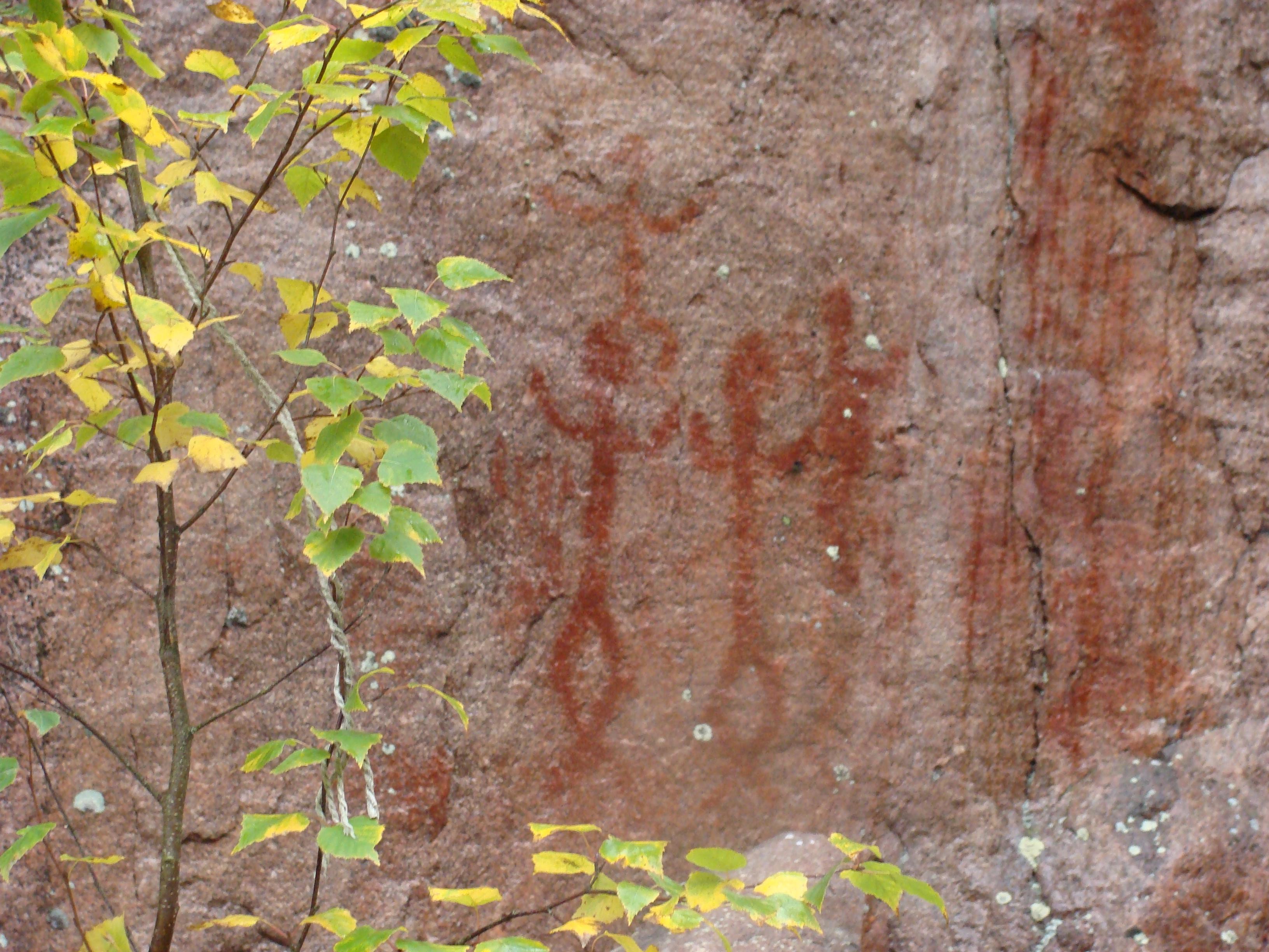 Juusjärven kalliomaalaukset