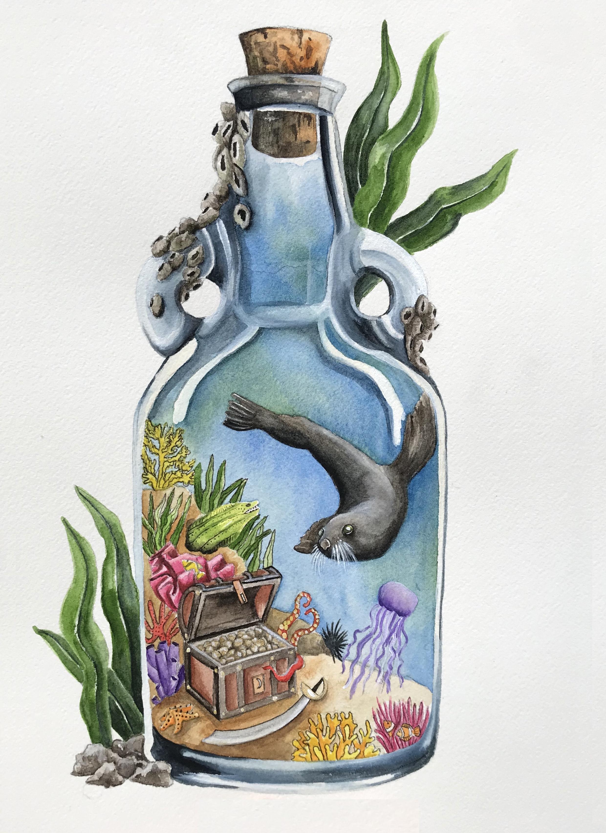 Seal In A Bottle