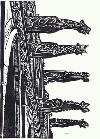 Gargoyles of Saint-Severin