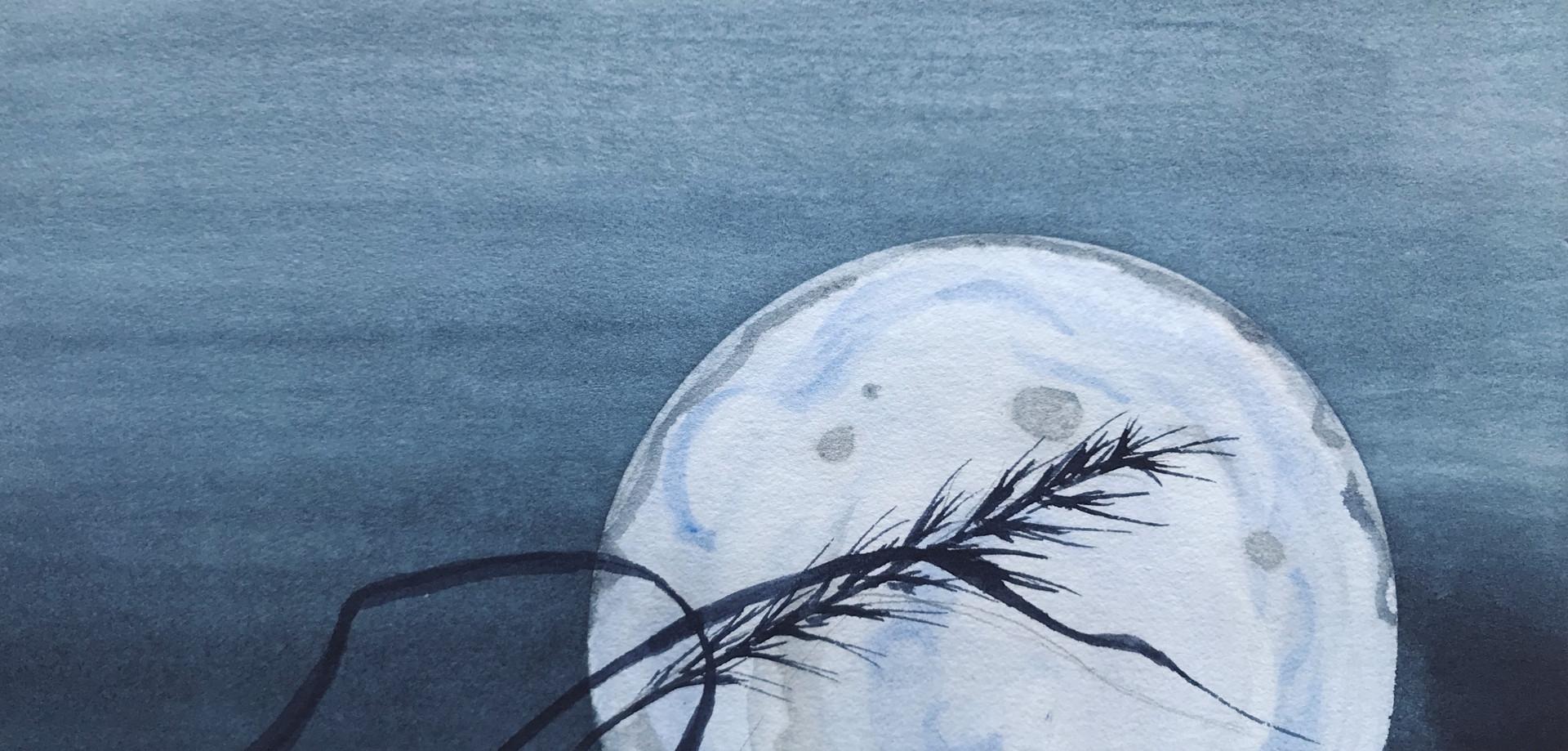Dancer in Moonlight