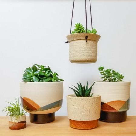 Sand Dunes Plant Pots