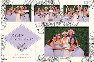 Pointer Wedding Photo Booth Image