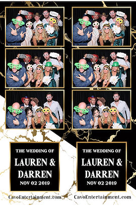 Lauren and Darren Fitzpatrick Wedding Photo Booth Picture