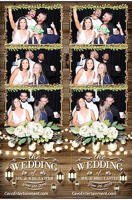 Katelin and Nick Laster wedding Photo Booth pictures