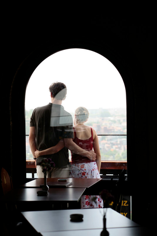 Galata kulesi aşıkları...