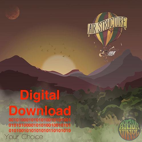 Air Structure / Skankstarz Split Album - Digital Record