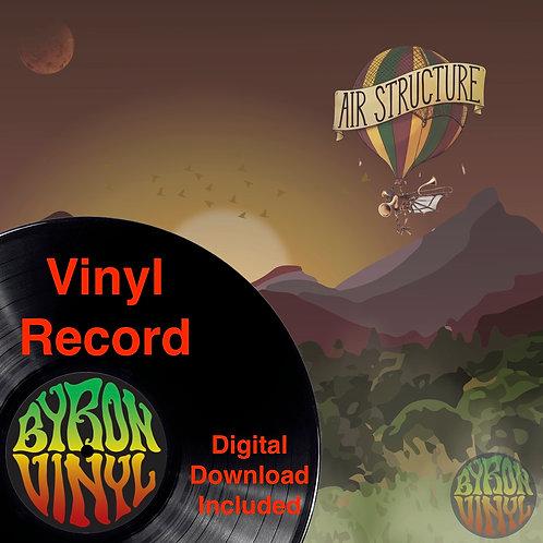 "Air Structure / Skankstarz Split Album - 12"" Vinyl Record"