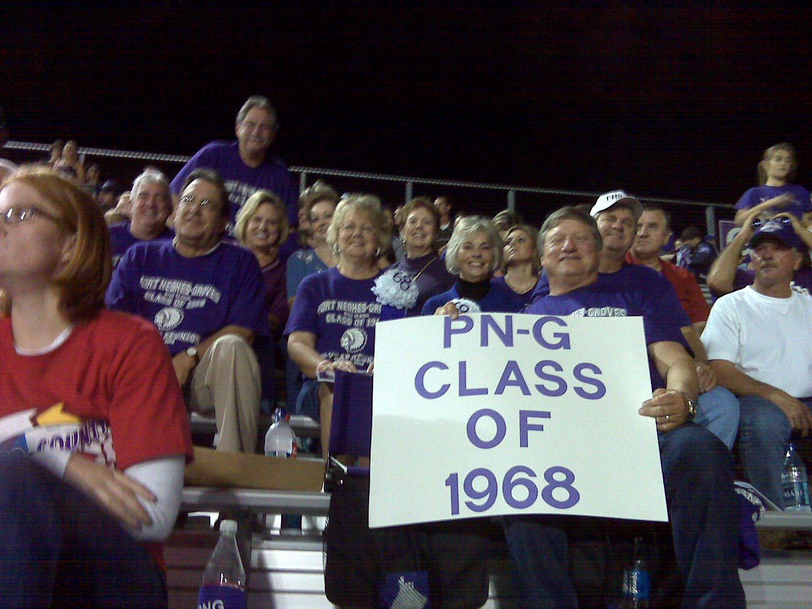 class of 68 at homecoming 3