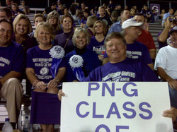 Class of 68 at homecoming