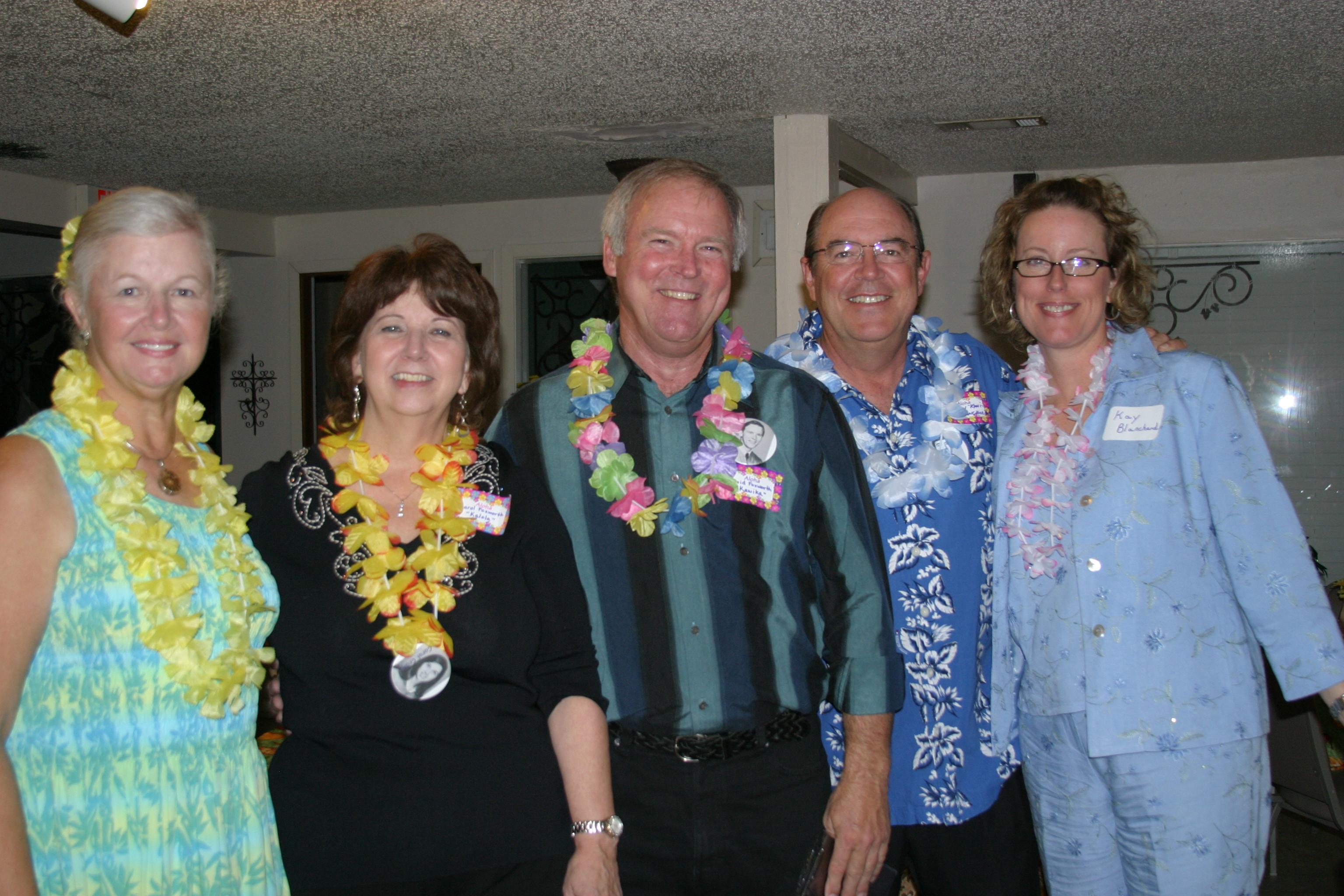 Sandy Reeder, Carol Craig, David Foxworth, Danny Blanchard &