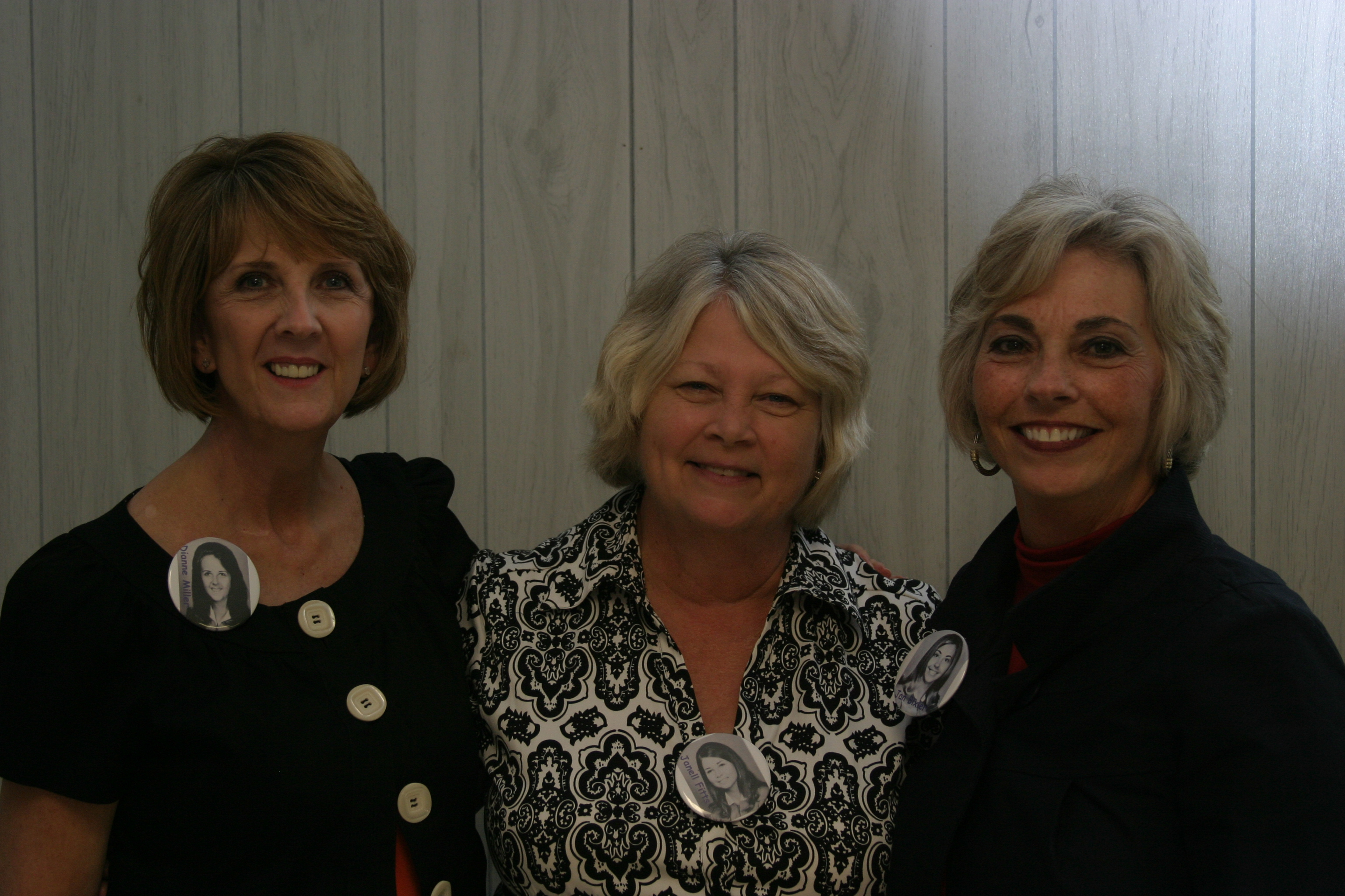 Dianne Miller, Janell Fitts & Jan Bixler