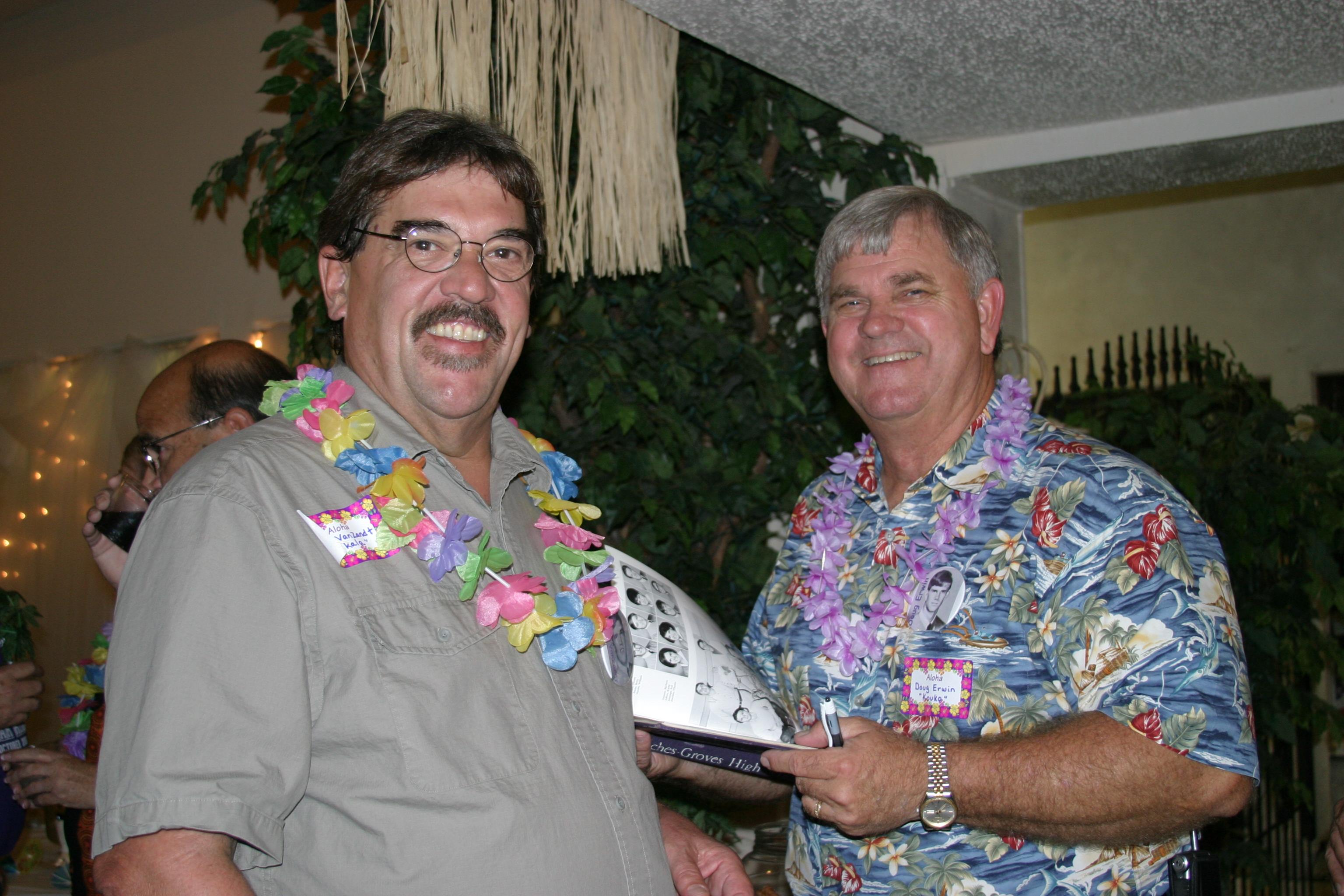 Mike VanZandt and Doug Erwin