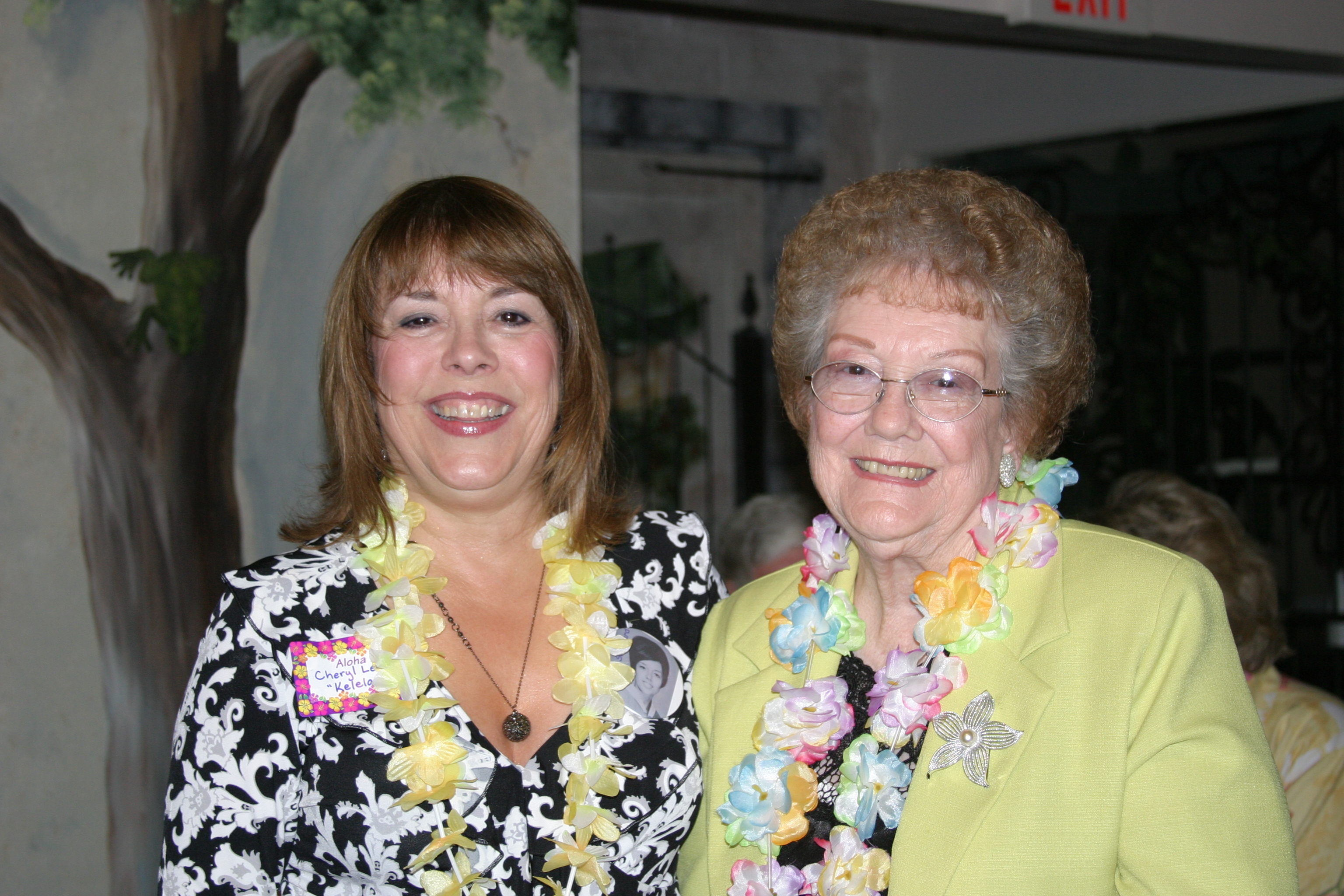 Cheryl & Mrs. Sheppard