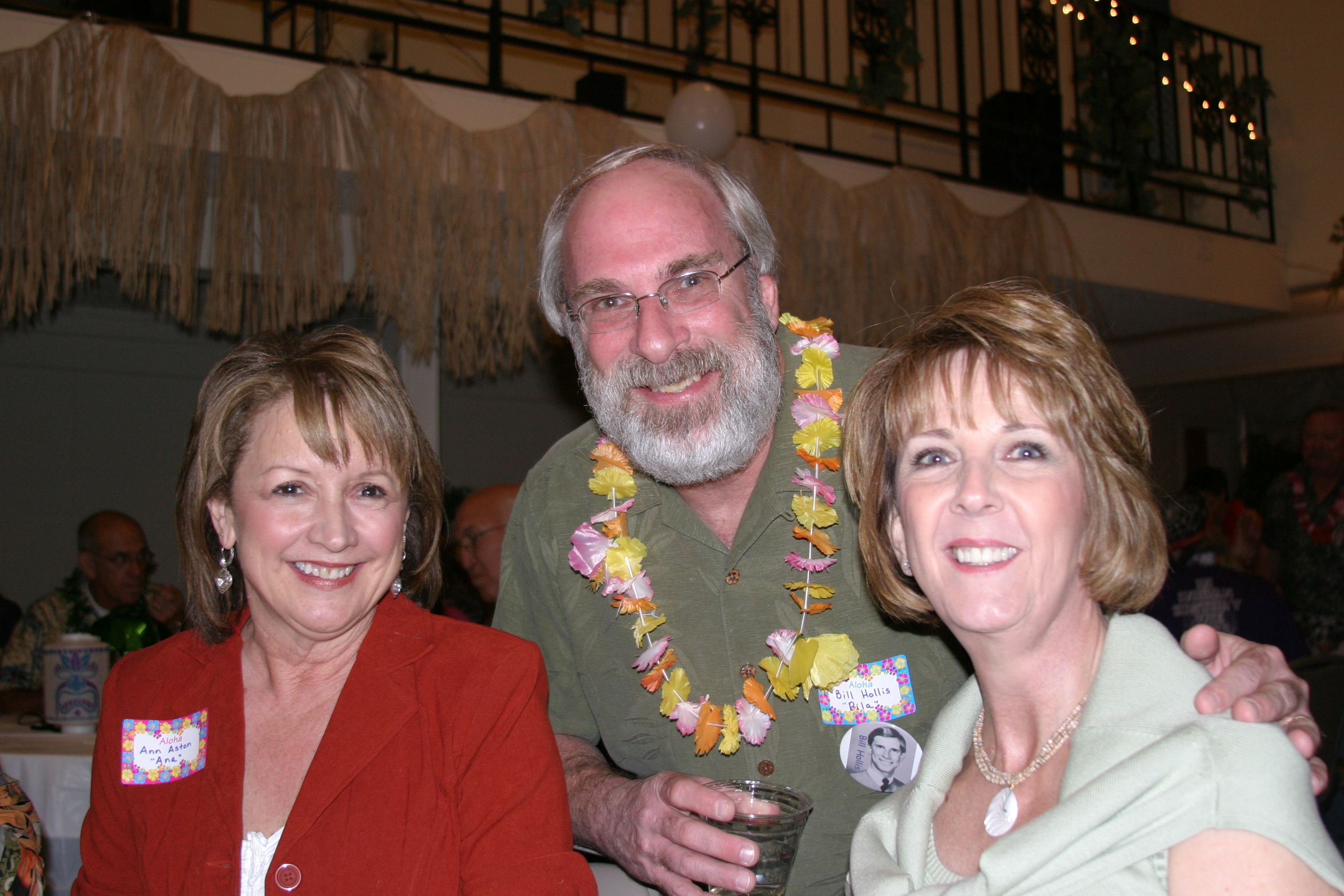 Ann Wendle, Bill Hollis & Dianne Miller