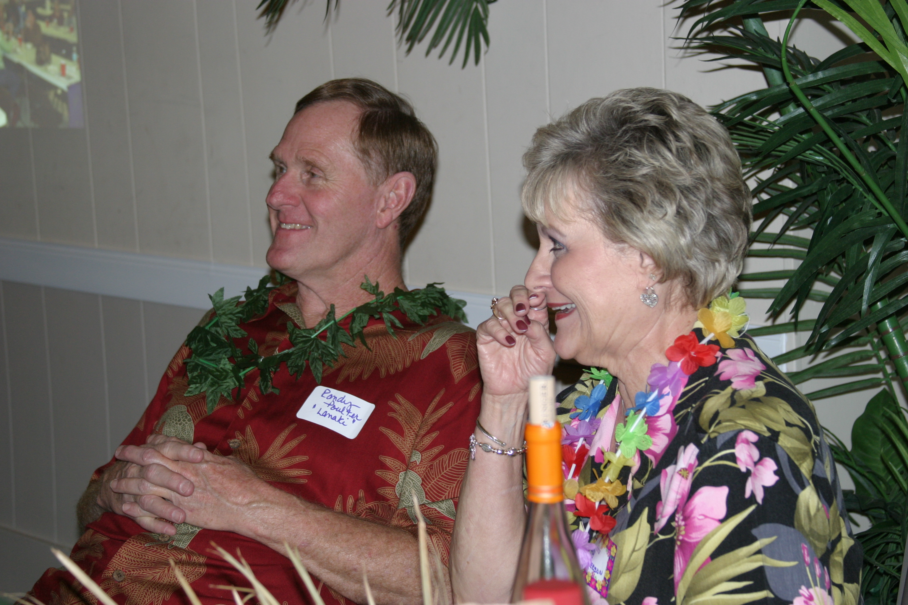 Randy Poulter and Judy Anderson
