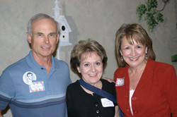 John & Susan Bigelow with Ann Wendle