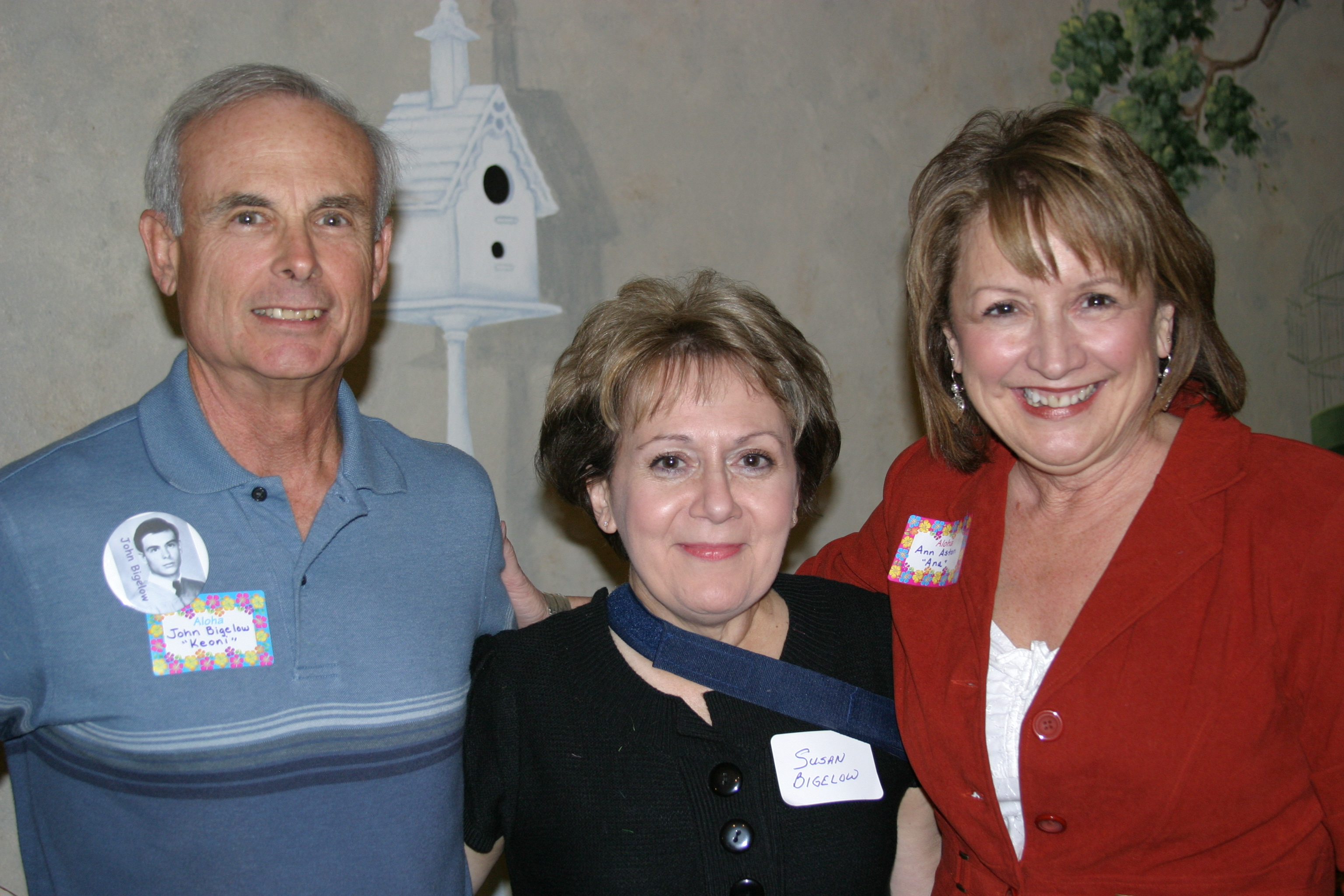 John & Susan Bigelow and Ann Wendle