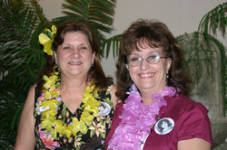 Helen Ladet and Kathy Binagia