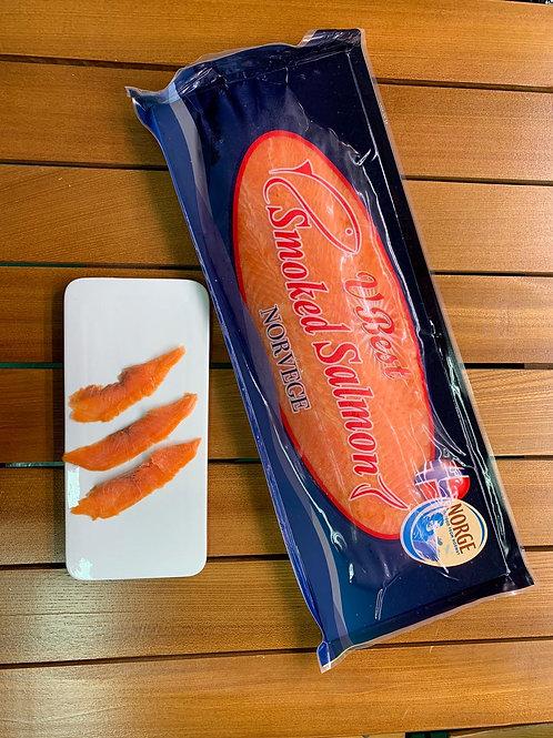 Norway 800g 挪威急凍三文魚 煙燻 Frozen Smoked Salmon Sliced