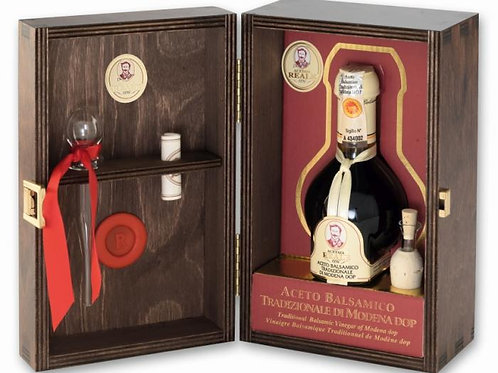 ACETAIA REALE (25 years)意大利葡萄黑醋 (25年) 25yr Trad. Balsamic Vinegar in wooden box