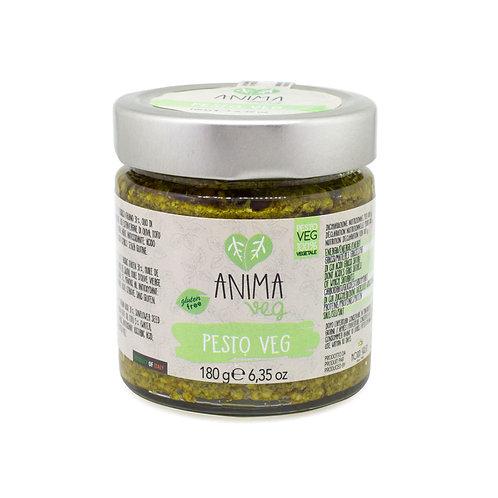 全素香草意粉醬•無麩質  (180g) Vegan Pesto – Anima Veg•Gluten free