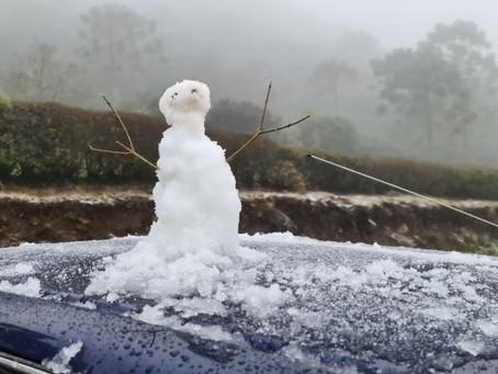 VÍDEO: Santa Catarina teve o primeiro registro de neve em 2021