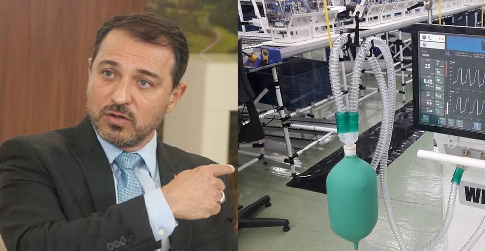Mais uma compra de respiradores está sob investigação em Santa Catarina.