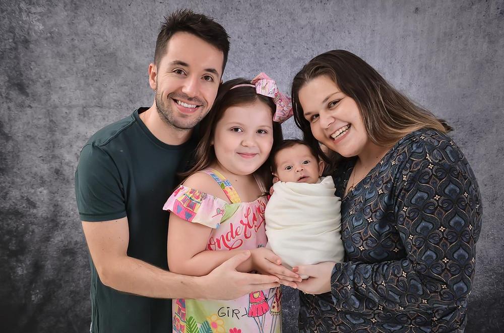 Família comemorou a notícia de que Enrico nasceu imunizado para a Covid-19