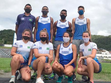 Onze atletas da equipe de atletismo de Balneário Camboriú disputa Campeonato Brasileiro