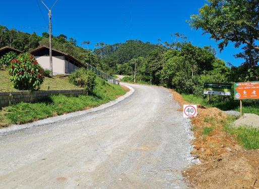 Obras da Estrada Geral do Caetes em Camboriú recebe readequação