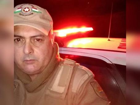 Policial militar morre em acidente com pista congelada em SC