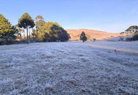 Com -9.8ºC Serra Catarinense tem a menor temperatura do ano