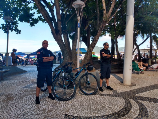 Guarda Municipal de Balneário Camboriú inicia Bike Patrulhamento