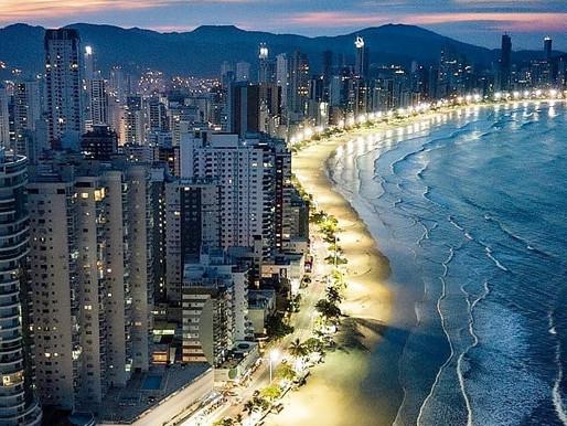 Balneário Camboriú é a quarta no ranking das cidades com o metro quadrado mais caros do Brasil