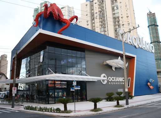 Oceanic Aquarium será inaugurado oficialmente dia 13 de março.