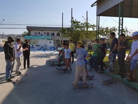 Fundação de Esportes inicia projeto de skate em Camboriú