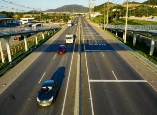 Duplicação da rodovia Antônio Heil é inaugurada em Itajaí