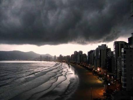 Defesa Civil Alerta para grande volume de chuva neste final de semana