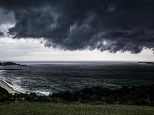 Defesa Civil alerta para temporal com vento em Santa Catarina