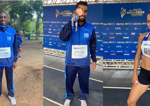 Atletas de Balneário Camboriú conquistam medalhas no Troféu Brasil Caixa de Atletismo