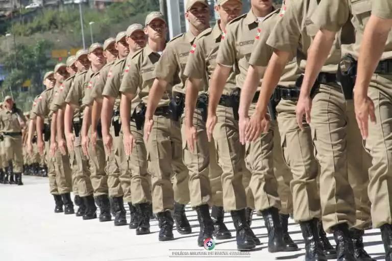 Concursos da Polícia Militar de Santa Catarina devem ser lançados em 2021