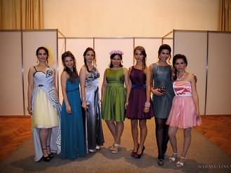 Коллекция платьев студентов МГУДТ. Runway