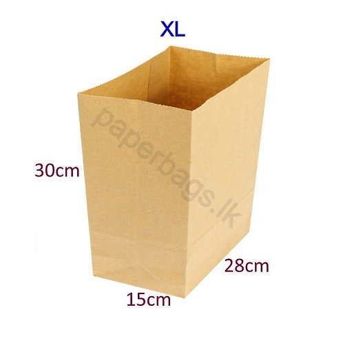Square Bottom XL 30x28x15cm
