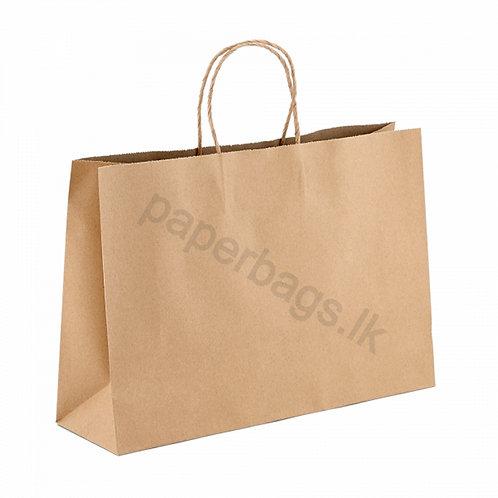 Carrier Bag Natural Brown