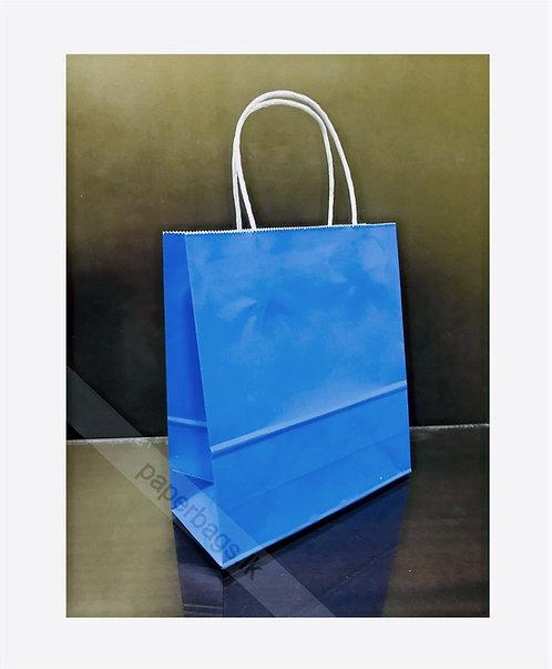 Carrier Bag Mexican Blue 24x20x10cm