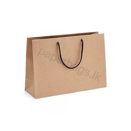 Brown Carrier Cord Handle Bag