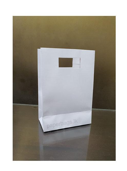 Cut Handle White 20x14x07cm