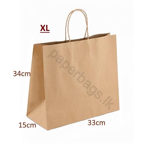 Print XL Brown 34x33x15cm