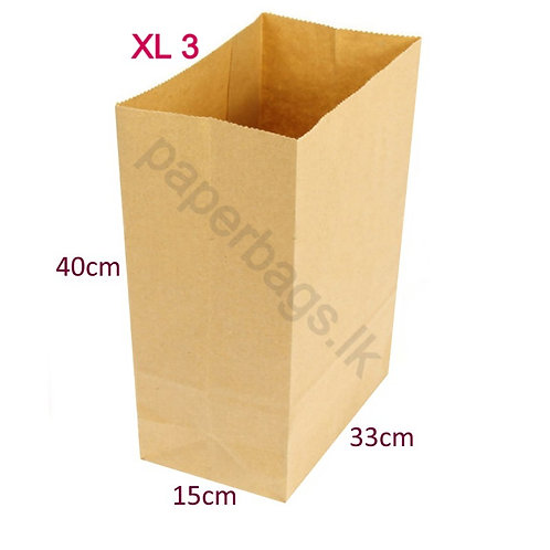 Square Bottom XL3 40x33x15cm